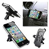 Accessotech iPhone 4 4S Vent Car Holder Mount Adjustable Cradle Dock Dash Stand Adjustable