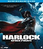 Blu Ray (2D + 3D) & DVD Harlock Space Pirate (English Audio)