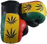 LEAF ON RASTA MINI BOXING GLOVES