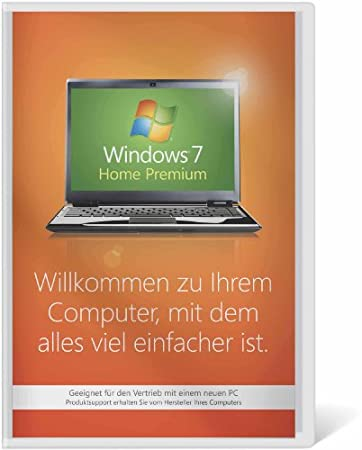 Windows 7 Home Premium 64 Bit OEM inkl. Service Pack 1