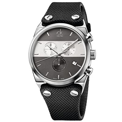 Calvin Klein Men's K4B371B3 Black Chronograph Watch