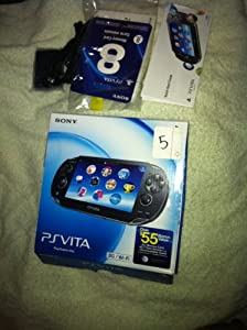Sony Playstation Vita 3G + WiFi AT&T Unlocked - Black from Sony