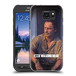 Official AMC The Walking Dead Rick Filtered Characters Hard Back Case for Samsung Galaxy S6 active