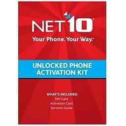 T-Mobile Compatible SIM Card (Net10)