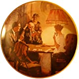 "Norman Rockwell's ""This is the Room That Light Made"" Collector Plate"