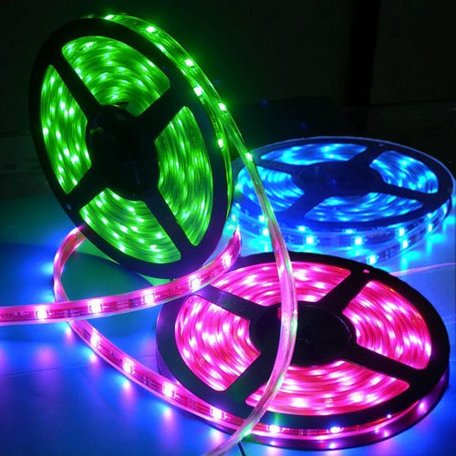 Sain Store SainStyle Flexible 16 Colors LED Strip (16FT) with 150 x SMD5050 LEDs, Water and Stain Proof, Remote Control at Sears.com