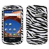 Zebra Print Protector Case for Samsung Epic 4G (Galaxy S) Sprint