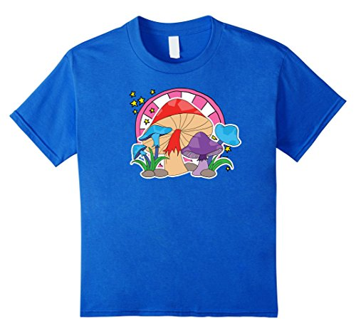 Mushrooms T-shirt, Rave, Party, Shroomin by Zany Brainy