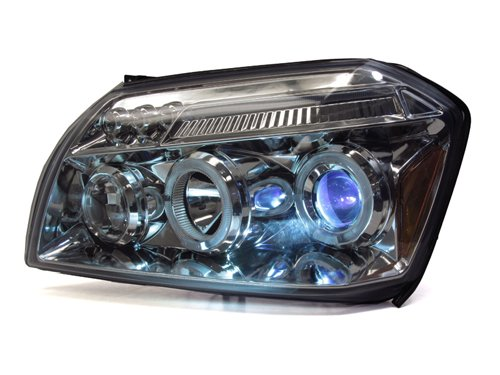 6 inch -Chrome Driver side WITH install kit 100W Halogen 2007 Hino CR-V Post mount spotlight