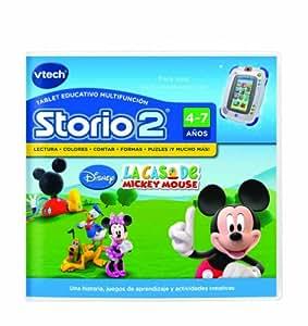 Amazon.com: Vtech Storio 2 Mickey - Juego en Español: Toys & Games