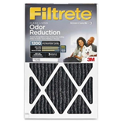 14x30 Filtrete Home Odor Reduction Filter (2 Pack) (3m Filtrete Odor Reduction compare prices)