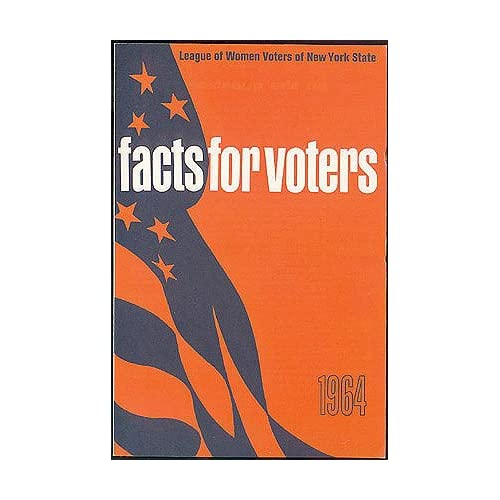 Facts for Voters 1964, League of Women Voters of New York State