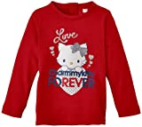 Charmmy Kitty - Camiseta para niña, talla 6 meses (6 meses), color rojo
