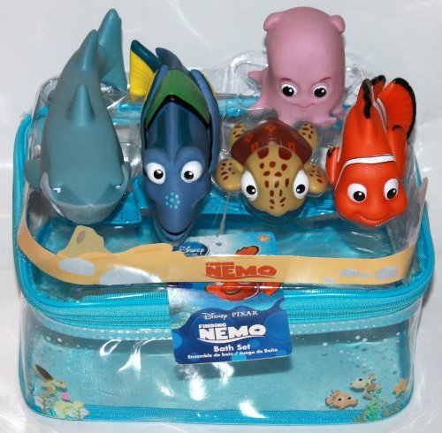 Disney 5 Pc. Finding Nemo Bath Toy Set