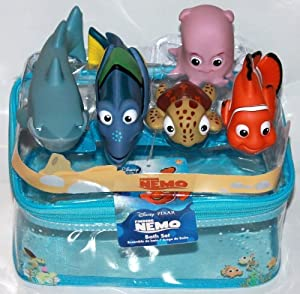 Disney 5 pc finding nemo bath toy set - Finding nemo bathroom sets ...