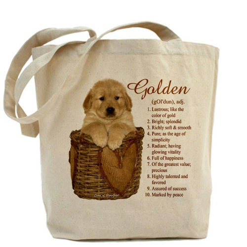 CafePress Unique Design Golden Retriever Meaning Tote Bag - Standard