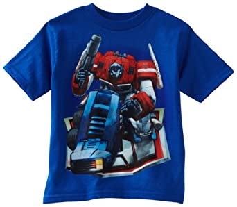 Amazon.com: Transformers Boys 2-7 Optimus Prime Bend Tee: Clothing