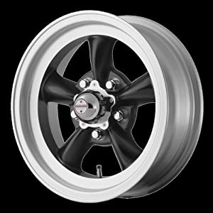 American Racing Hotrod VN1055465BTORQ THRUST D 15×4.5 5×114.30 BLACK (-15mm)