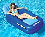 2) Swimline Solstice 15181SF Swimming Pool Inflatable Float Cooler Couch Lounges