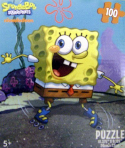 Cheap nickelodeon Licensed Nickelodeon SpongeBob Squarepants 100 Pc Puzzle (B0037MKUNU)