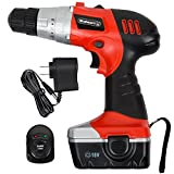 Stalwart 75-01120 Hawk Trademark 18V Cordless Drill with LED Light and Extras image