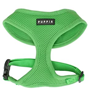 Puppia Soft Harness, S, Green