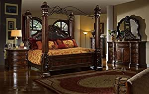Giana eastern king adult canopy bed set - Canopy bed ideas for adults ...