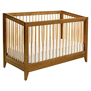 Davinci Highland 4 In 1 Convertible Crib With Toddler Rail Chestnut With Natural