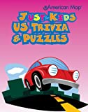US Trivia & Puzzles (American Map Just for Kids)