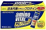 アミノバイタル アミノプロテイン レモン味 100本入箱
