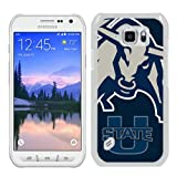 img - for Ncaa Pacific 12 Conference Pac 12 Football Ncaa Mountain West Conference Mwc Utah State Aggies 6 White Shell Case for Samsung Galaxy S6 Active,Unique Cover book / textbook / text book