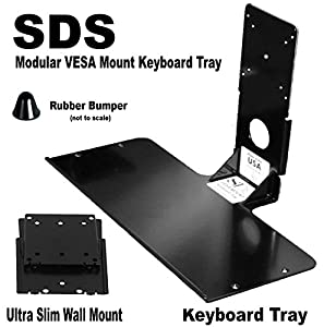 vesa keyboard tray with wall mount. Black Bedroom Furniture Sets. Home Design Ideas