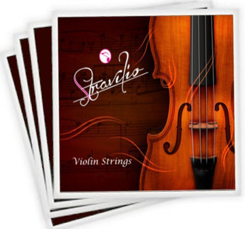 Full Set High Quality Violin Strings Size 4/4 & 3/4 Violin Strings, G D A & E (Full Violins compare prices)