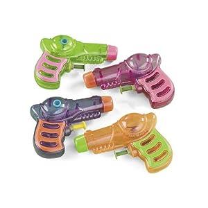 12 Neon Grip Squirt Guns
