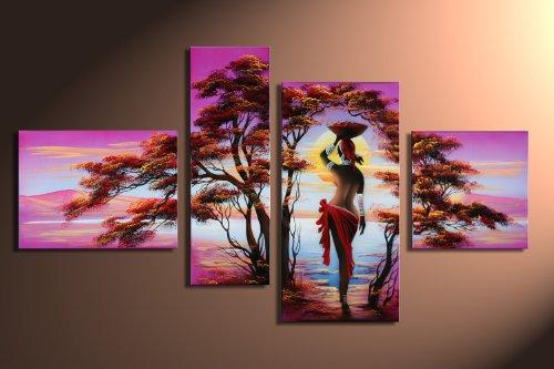 Barato sue os africanos m2 4 imagen aprox 120x70 for Cuadros abstractos baratos