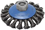 Bosch 2 609 256 511 - Cepillo cónico para amoladoras angulares y rectas, alambre trenzado, 100 mm