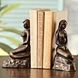 Lonely Siren of the Seas Mermaids Coastal Cast Iron Bookends