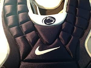 Nike Penn State NCAA catchers chest protector 17 Mens nike pro gold precision by Nike