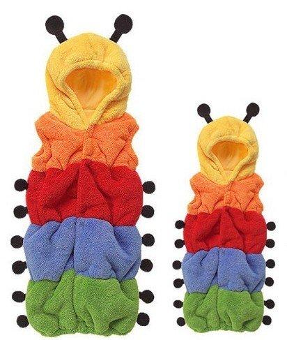 Oneer? Halloween Shower Party Gift Costume Outfit Sleeping Bag Caterpillar climb clothes (Caterpillar Costume)