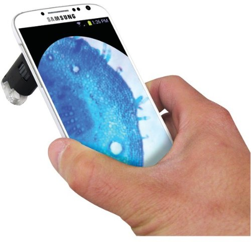 Carson - Led Microscope With Galaxy S(R) 4 Adapter *** Product Description: Carson - Led Microscope With Galaxy S(R) 4 Adapter Built-In Led Light Provides A Bright, Clear Image 60X - 100X Power Magnification Pocket Microscope With Samsung(R) Gala ***
