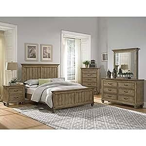 sylvania panel bedroom set queen