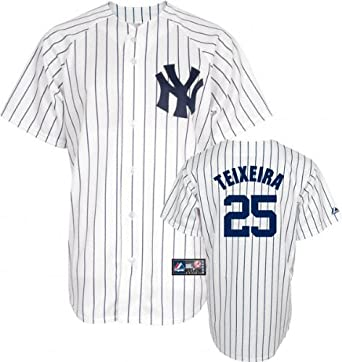 Mark Teixeira Majestic Replica New York Yankees Kids 4-7 Jersey by Majestic