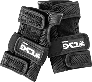 TSG Force IV Wristguard Safety Equipment (Small, Black)