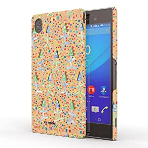 Koveru Designer Protective Back Shell Case Cover for Sony XPERIA M4 Aqua - All is well Texture