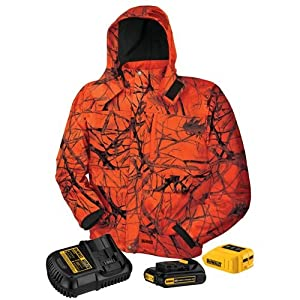 DEWALT DCHJ063C1-3XL 20V/12V MAX Blaze Camo Heated Jacket Kit, 3X-Large