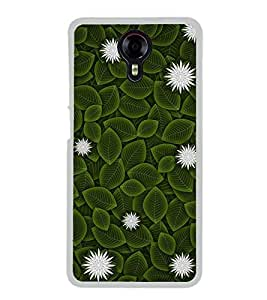 Flowers and Leaves 2D Hard Polycarbonate Designer Back Case Cover for Micromax Canvas Xpress 2 E313