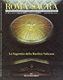 img - for Roma sacra. 23 -24  itinerario. La sacrestia di San Pietro in Vaticano book / textbook / text book