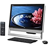 日本電気 LAVIE Desk All-in-one - DA570/BAB ファインブラック PC-DA570BAB