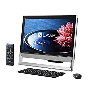 日本電気 LAVIE Desk All-in-one - DA570/BAB ファインブラック PC-DA570BAB
