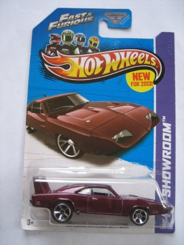 2013 Hot Wheels Hw Showroom Fast & Furious Edition - '69 Dodge Charger Daytona - 1